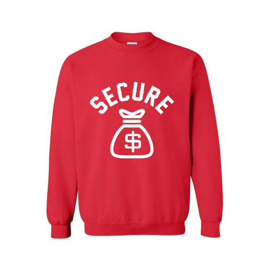 "Image of ""Secure The Bag"" Unisex Sweatshirt"