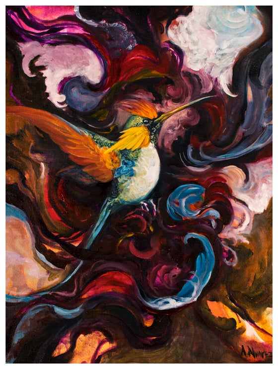 Image of Hummingbird (Print)