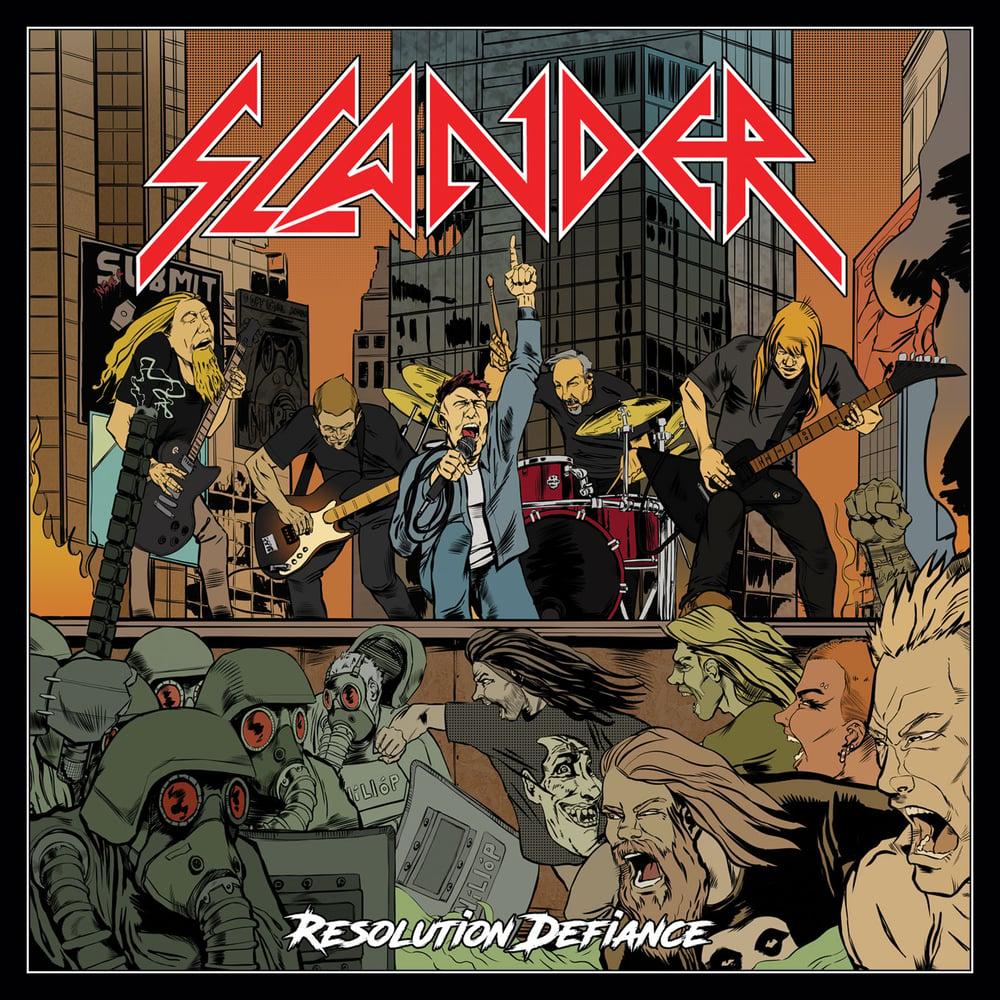 SLANDER - Resolution Defiance CD