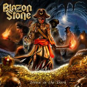Image of BLAZON STONE - Down In The Dark CD