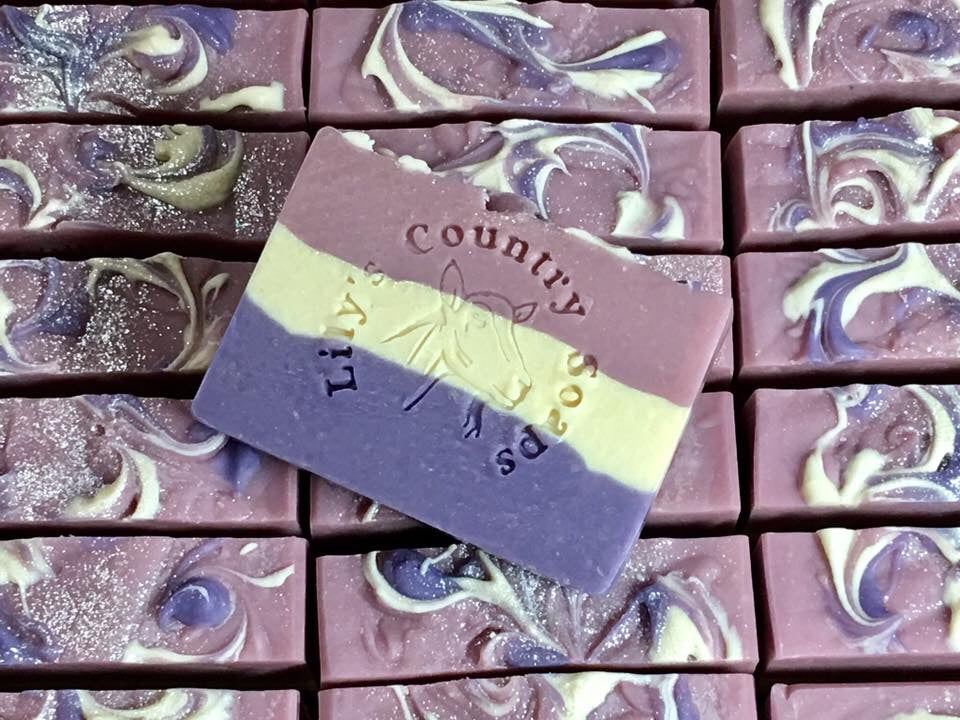 Image of Twisted Lilac Goat Milk Soap