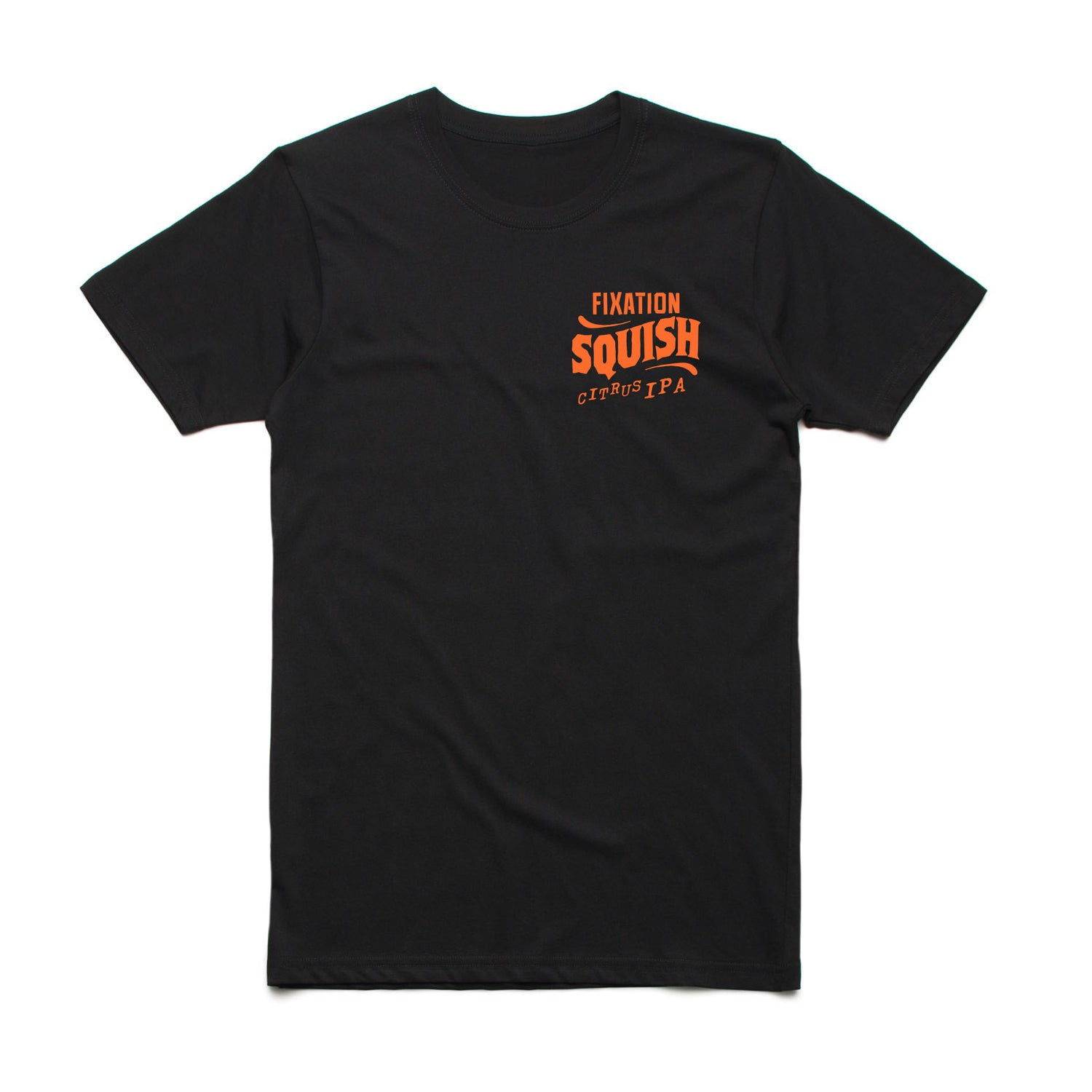 Image of Squish Citrus IPA tee - black