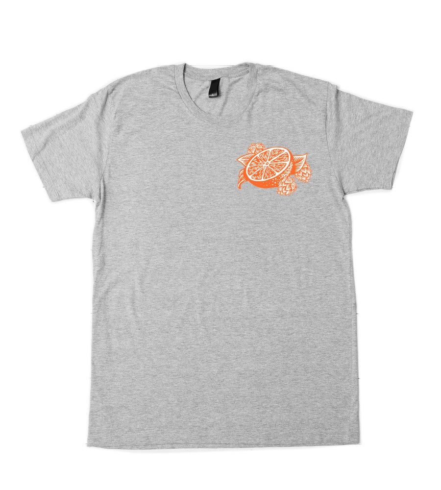 Image of Squish Citrus IPA tee - grey