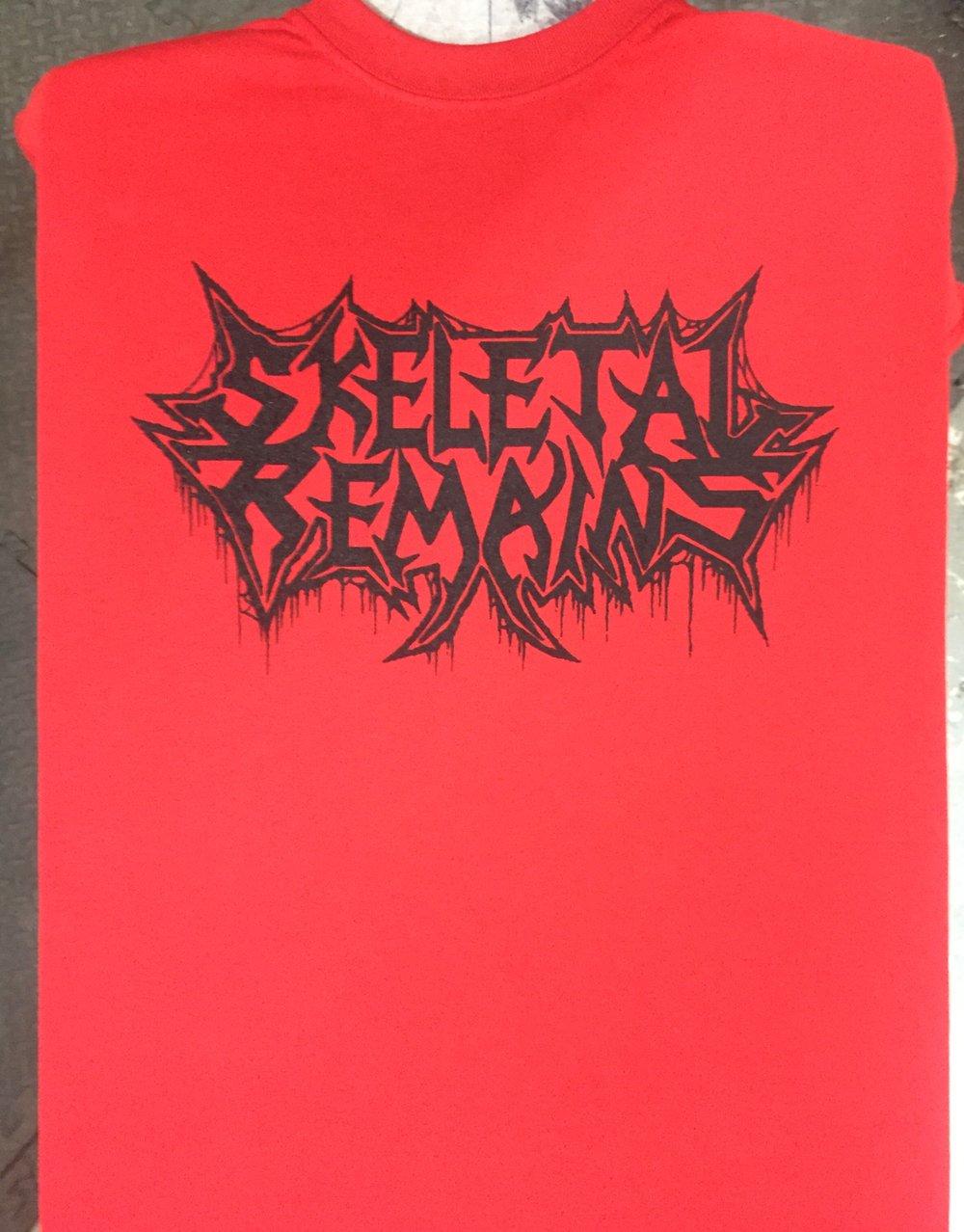 Skeletal Remains Logo t-shirt