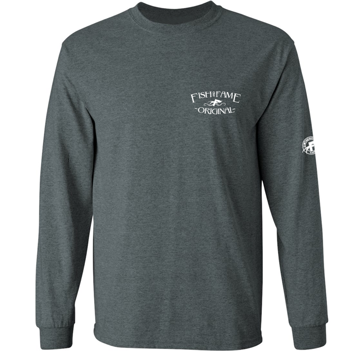 Image of No Boundaries LS (black heather)