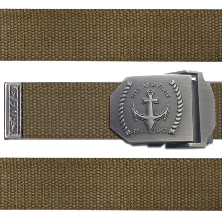 Image of Rope & Anchor Tactical Belt (olive drab)