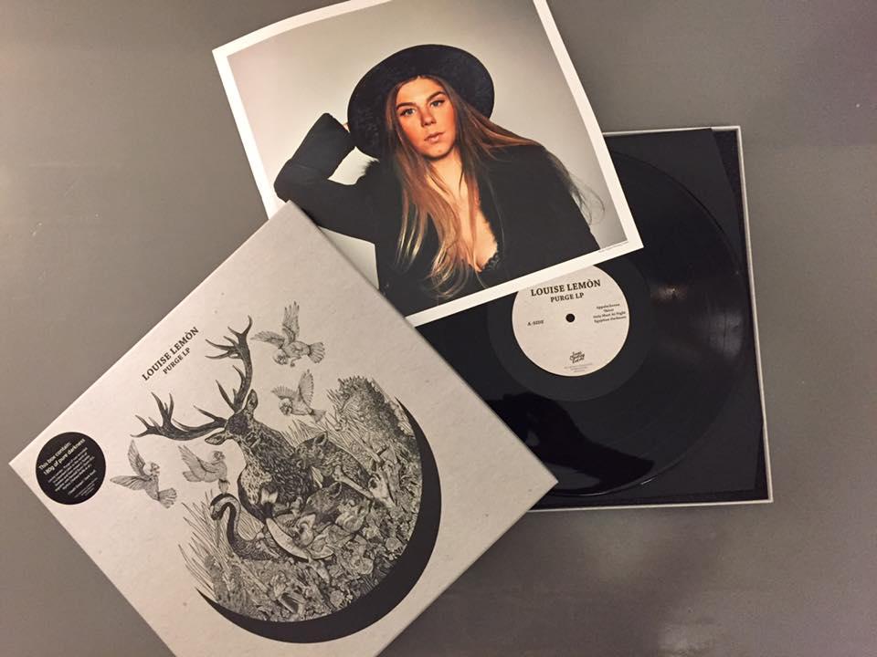 Image of Louise Lemón -  'Purge' (Black LP Box)