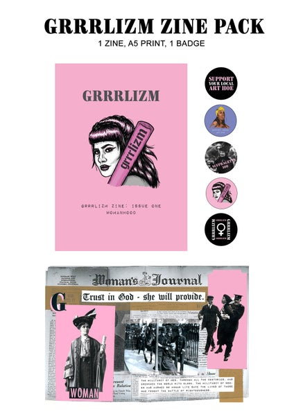 Image of GRRRLIZM ZINE PACK