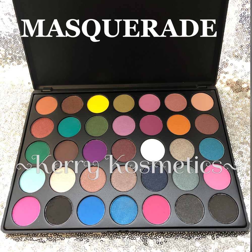 Image of 35 SHADE EYESHADOW PALETTE- MASQUERADE
