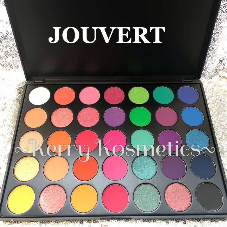 Image of 35 SHADE EYESHADOW PALETTE- JOUVERT