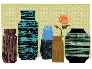 Image of Vases #1 Chrysanthemum