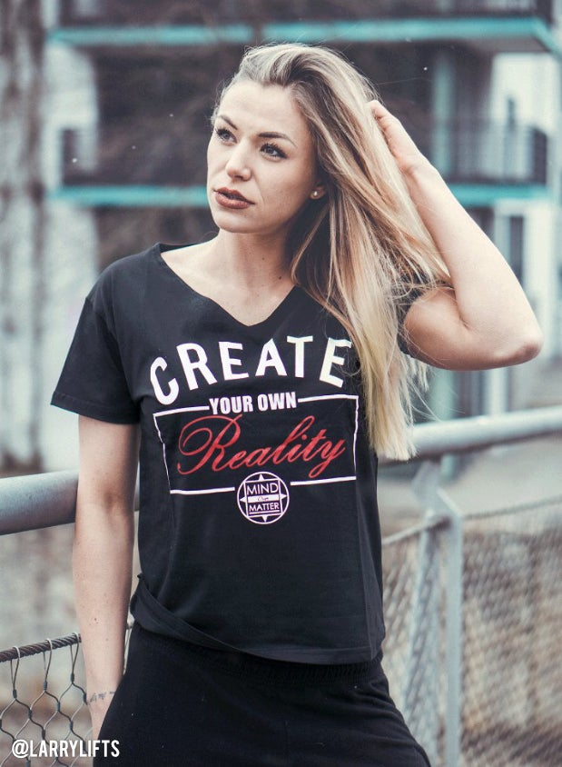 Image of CREATE YOUR OWN REALITY VNECK SHIRTS
