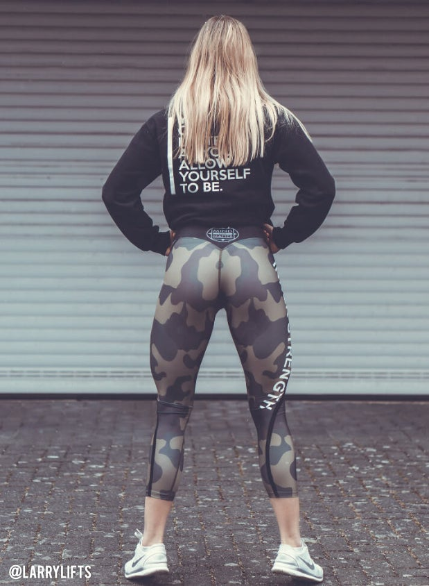 Image of INNER STRENGTH LEGGINGS | CAMO