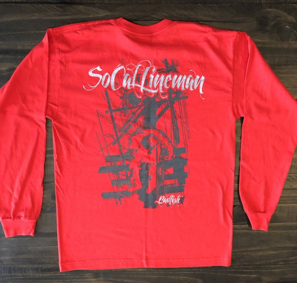 Image of SoCal Red Long sleeve