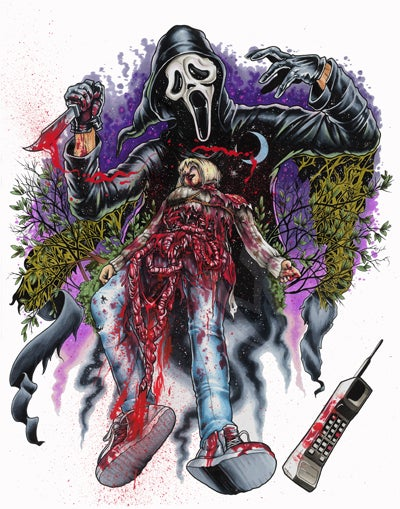 Image of ghostface