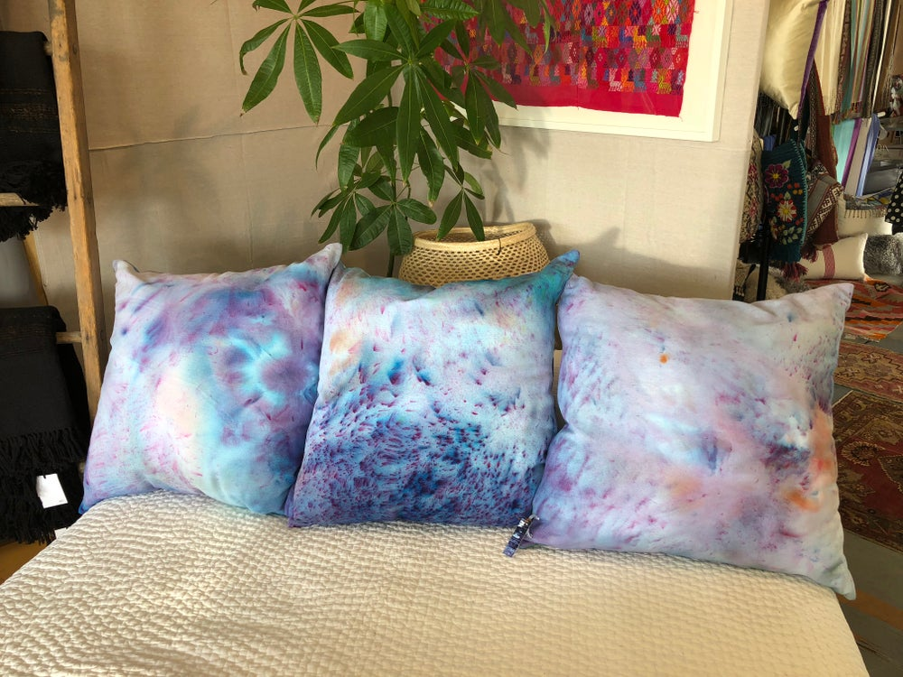 Image of Positive Healing Vibes Square Pillow