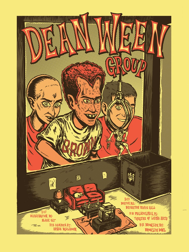 Image of Dean Ween Group 2018 poster