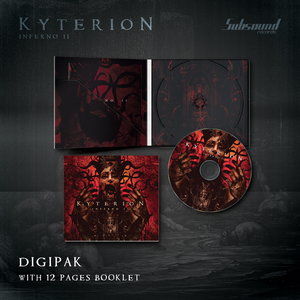 "Image of Kyterion ""Inferno II"" - Cd Digipak"