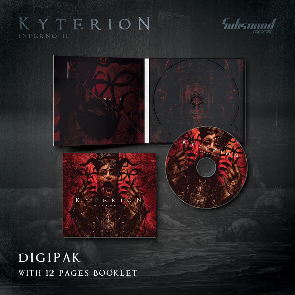 "Kyterion ""Inferno II"" - Cd Digipak"