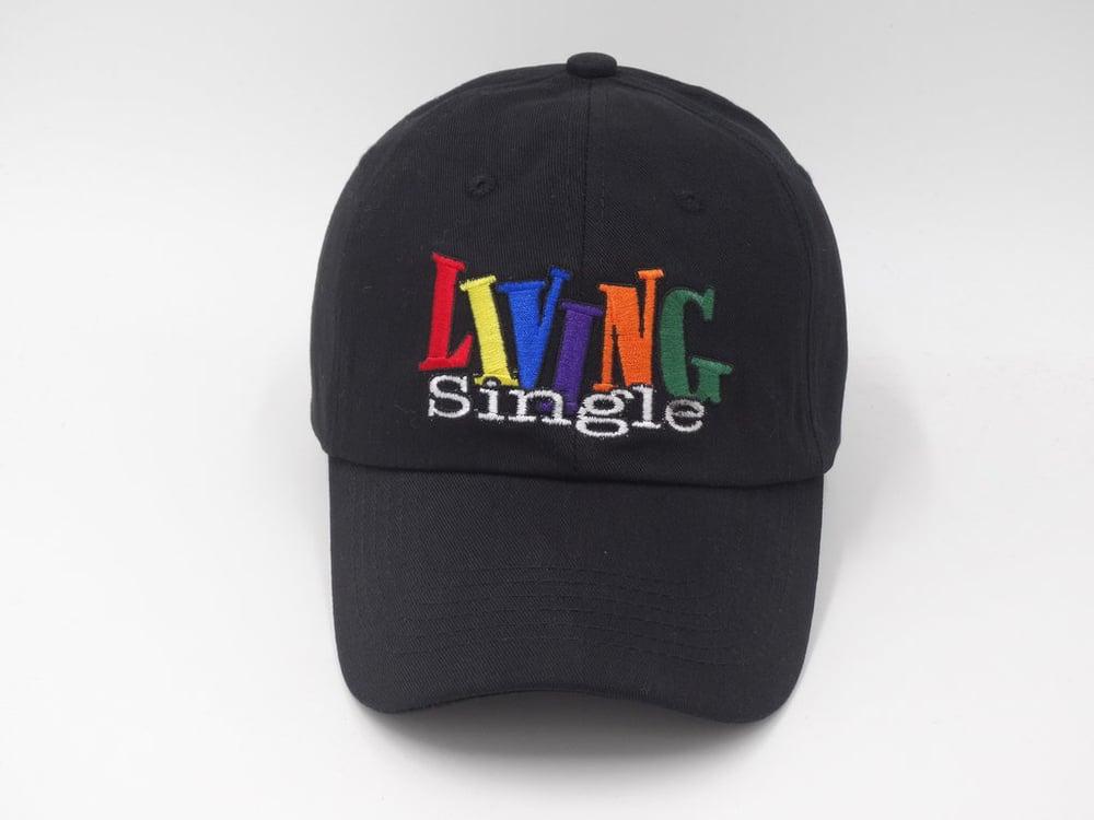 Image of Living Single Black Dad Cap 0a6e02dc349