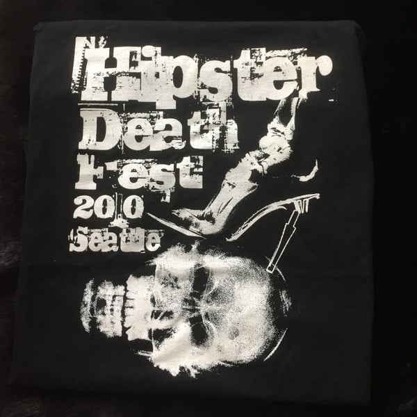 Image of Hipster Death Fest 2010 T-Shirt
