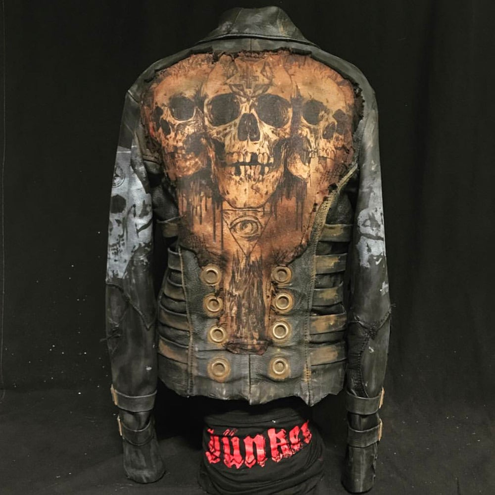 Image of Rusted Skull Jacket