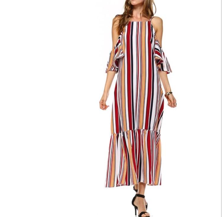 Image of Te Flared Dress