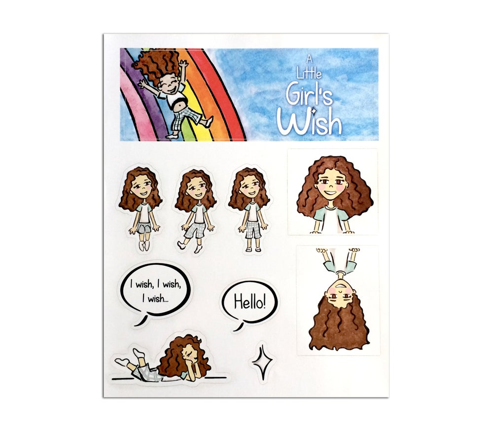 Image of A Little Girl's Wish (Sticker Sheet)