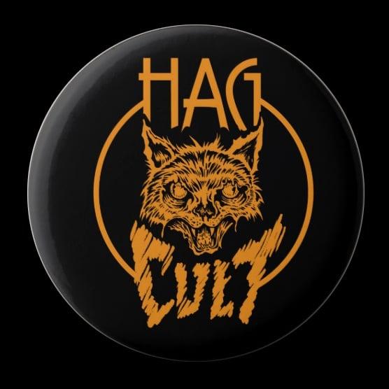 Image of HagCult Cat Button