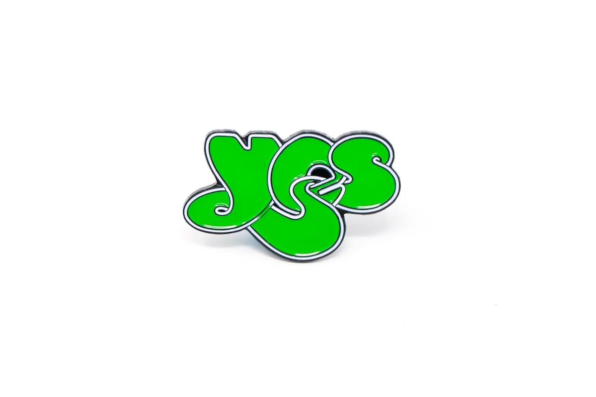 Image of Yes Logo Enamel Pin