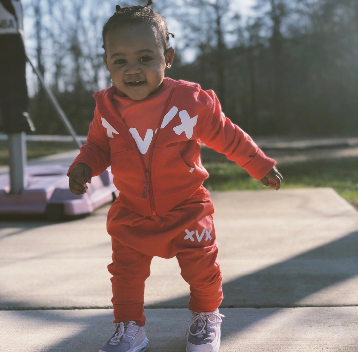 Image of XVX Baby Girls Sweatsuit