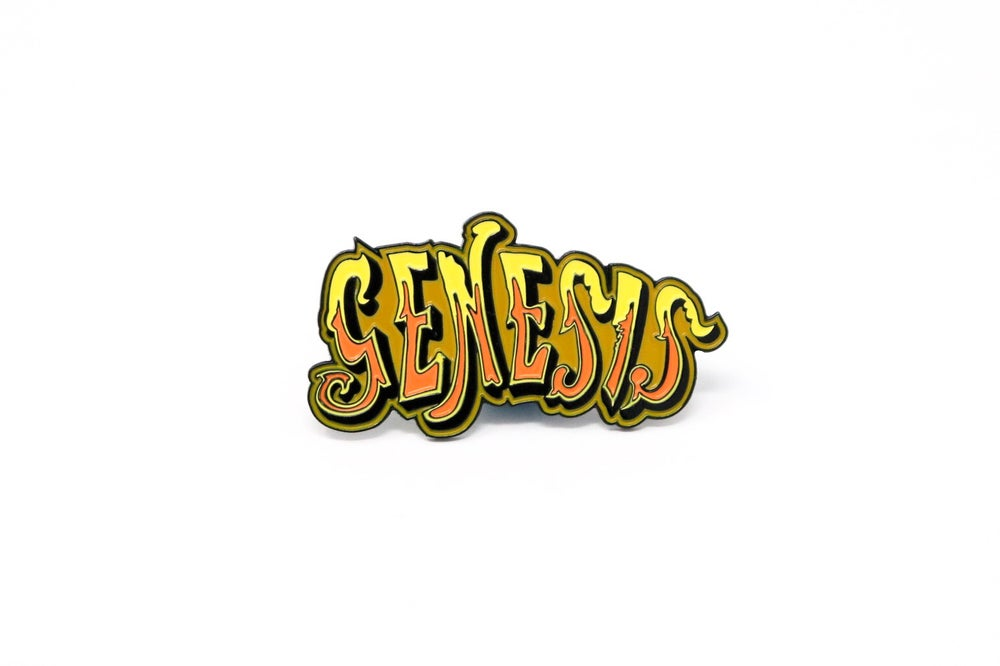 Image of Genesis - Logo Enamel Pin