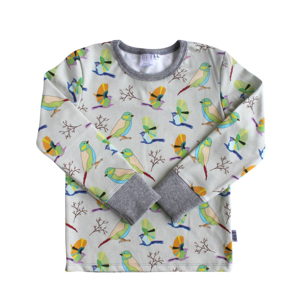 Image of Kids Shirt - Birds