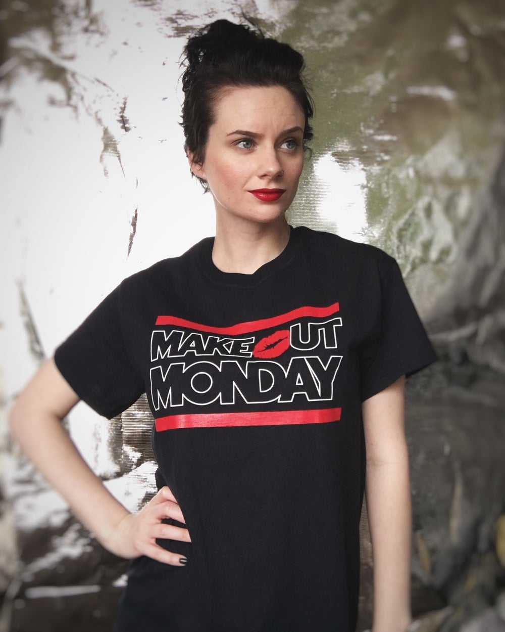 "Image of Make Out Monday ""Outline"" Shirt"