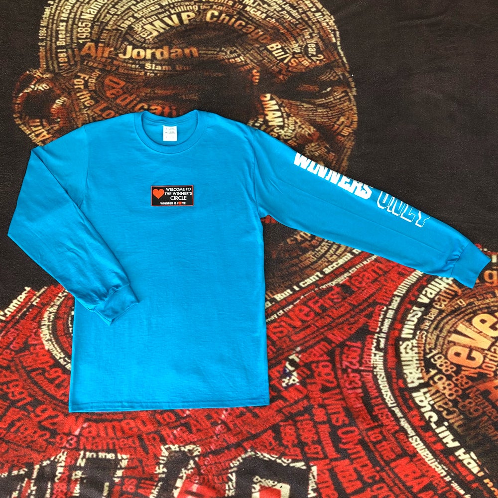 """Image of The Winner's Circle """"Welcome"""" L/S Tee"""