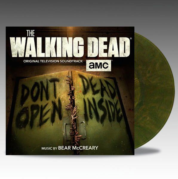 Image of The Walking Dead (Original Television Soundtrack) 'Green Marble' Vinyl - Bear McCreary