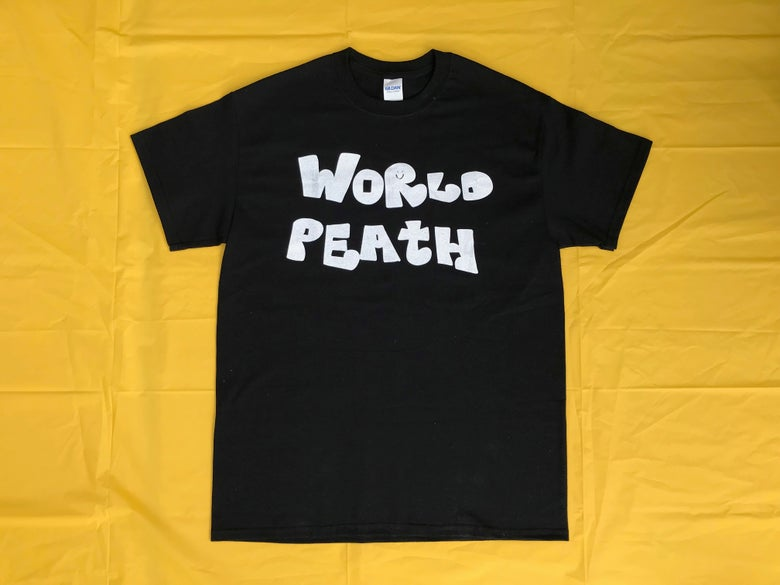 Image of world peath shirt (black)