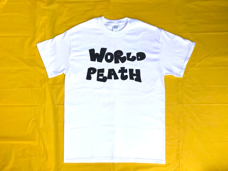 Image of world peath shirt (white)