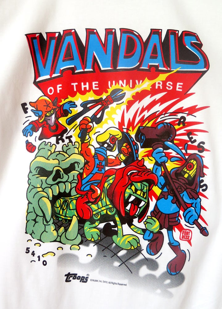 Image of Vandals Of The Universe / t-shirt
