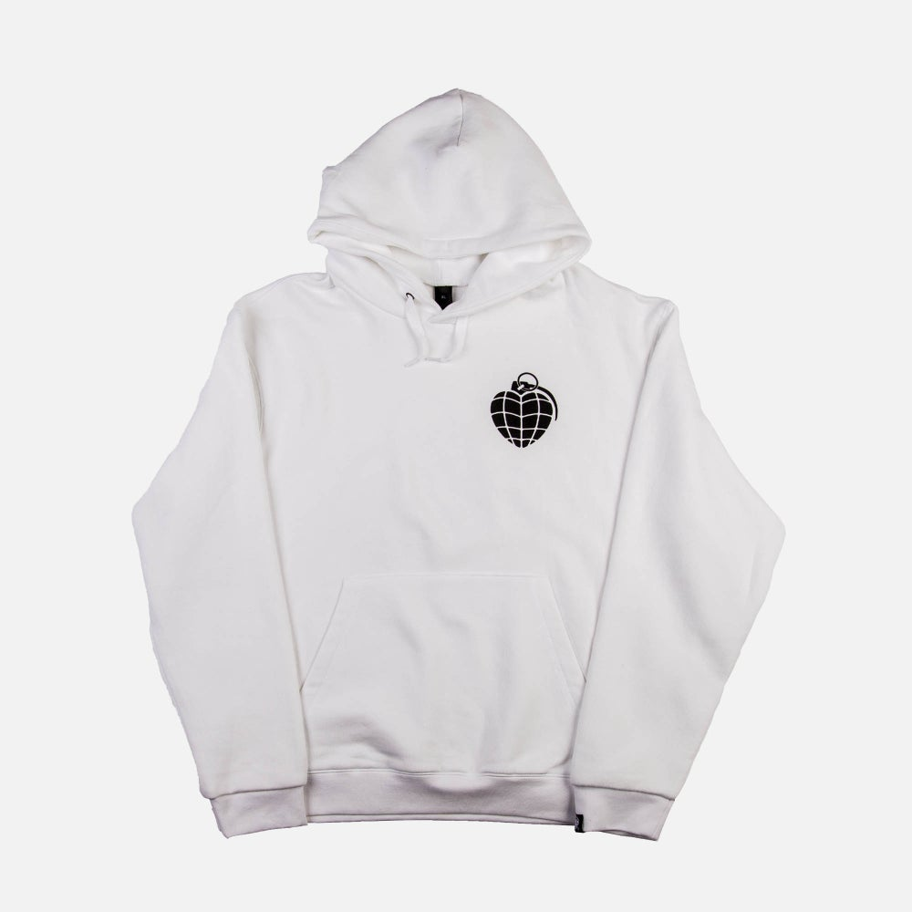 Image of Logo Pullover White
