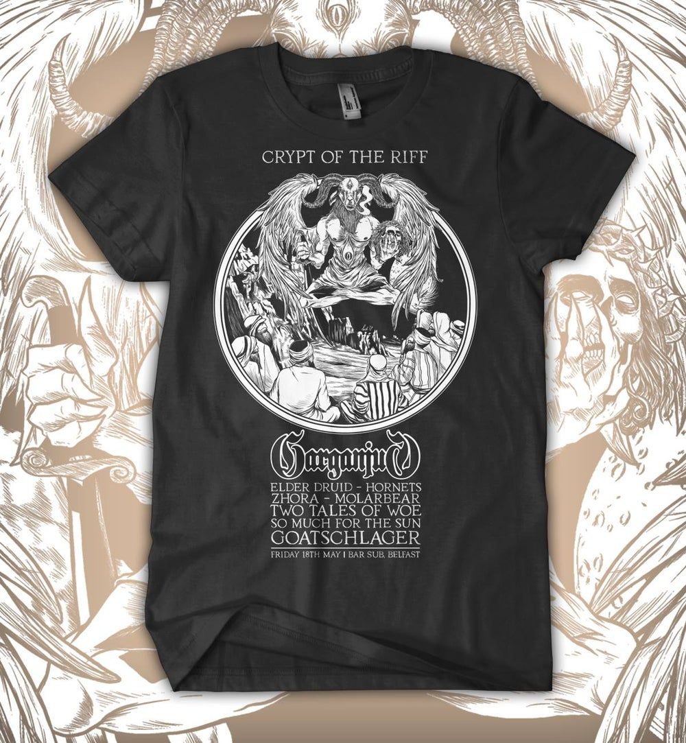 Image of Crypt of the Riff T-shirt