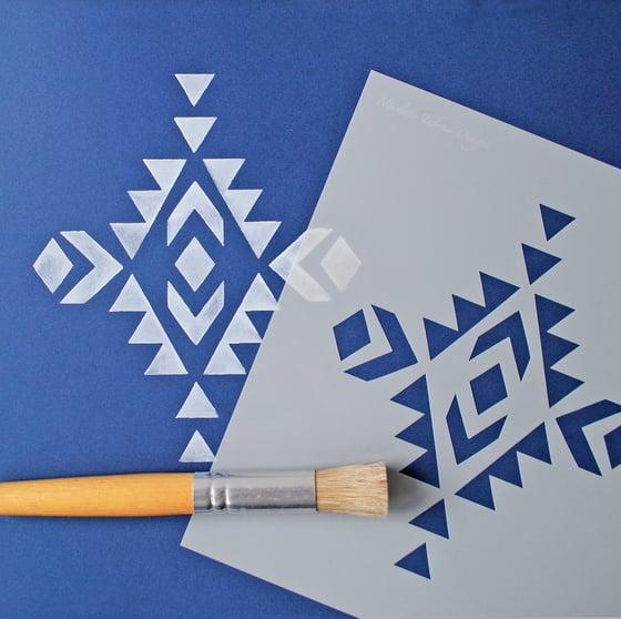 Image of Santa Fe Stencil