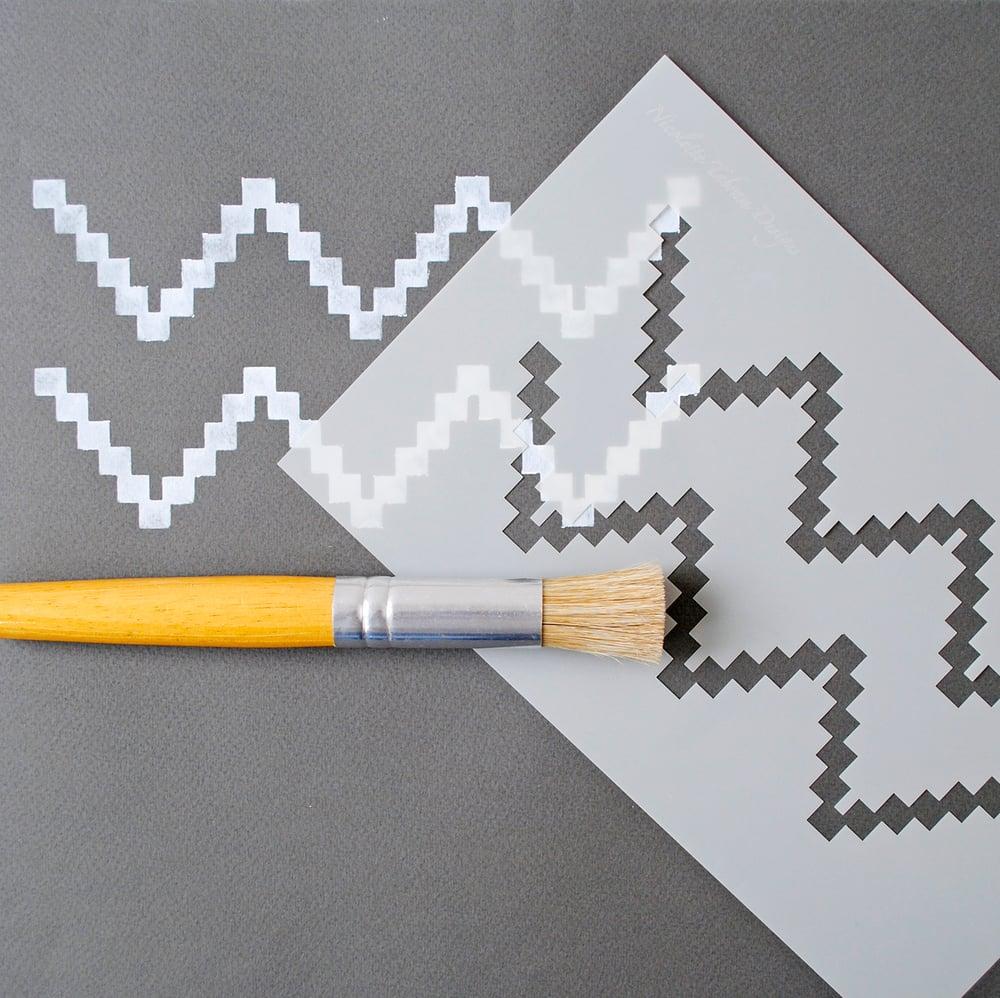 Image of Chevron Stencil