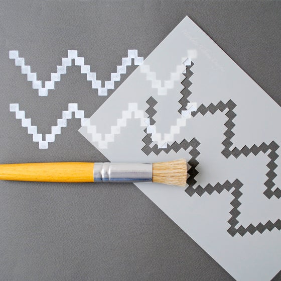 Image of Chevron Stencil