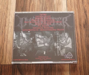 Image of The Misanthrope (2018) CD - Drink Hard Edition