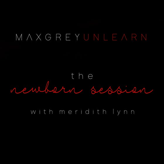 Image of the newborn mentor session - w/ meridith lynn