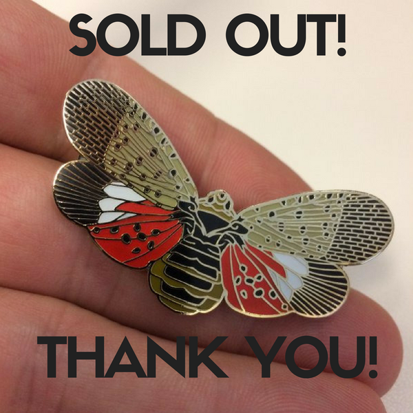 Image of SAVE THE LANTERNFLY!!<br> **SOLD OUT!**