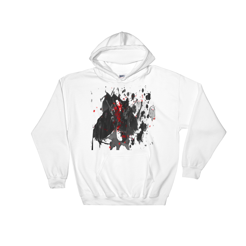 Image of blood in oil (hoodie)