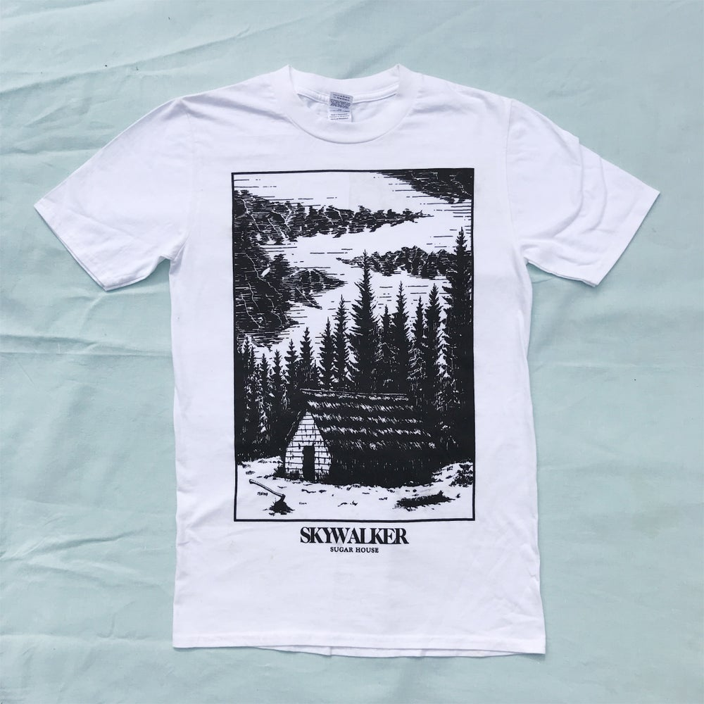 Image of SUGAR HOUSE white t-shirt