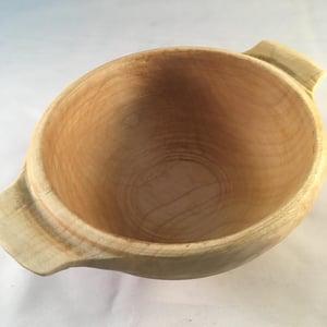 Image of Breton style handled bowl